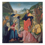 The Adoration of the Magi  1479 (Tempera on Panel)