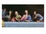 The Last Supper  Called &#39;The Little Last Supper&#39; (Oil on Canvas) (Detail of 140298)