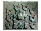 Incense Burner (Detail)  C350-550 (Polychrome Terracotta)