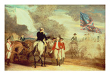 The Surrender of Cornwallis at Yorktown  1787 (Oil on Canvas)
