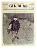 The Little Boy  from 'Gil Blas'  1897 (Colour Litho)