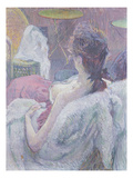 The Model's Rest  1896 (Pastel on Paper)