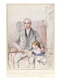 James Wyatt with His Grandaughter Mary  Oldest Child of James Wyatt Junior