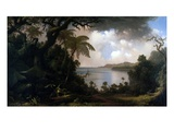 Jamaica  View from Fern-Tree Walk  1887 (Oil on Canvas)