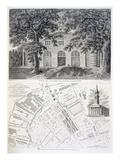 Cuper's Gardens  Lambeth  Engraved by Bartholemew Howlett  1746 (Engraving)