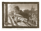 Death of Alcibiades (Litho)