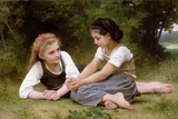 The Nut Gatherers  1882 (Oil on Canvas)
