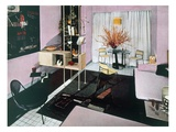 Example of a Living/Dining Room  1950S (Photo)