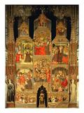 Altarpiece of the Virgin (Oil on Panel)