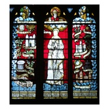 God and the Virgin (Stained Glass)