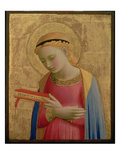 Virgin Annunciate  1450-55 (Gold Leaf and Tempera on Wood Panel) (See also 139311)