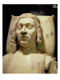 Charles V the 'Wise' (1338-80) Tomb Effigy  C1364 (Marble) (See also 95784)