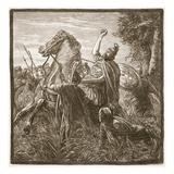 Death of Crassus (Litho)