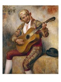 The Spanish Guitarist  1894 (Oil on Canvas)