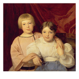 Children  1834 (Panel)