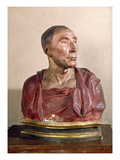 Portrait Bust Of The Condottiere Niccolo Da Uzzano (1359-1431) by Donatello