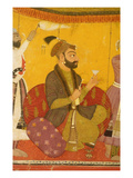 47110/359 Gosain Narayan Takes Poison in the Presence of Emperor Jahangir  Nurpur  Pahari School