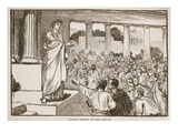 Scipio's Appeal to the People (Litho)