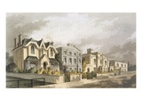 Group of Villas in Herne Hill  Camberwell (Colour Litho)