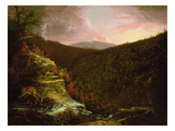 From the Top of Kaaterskill Falls  1826 (Oil on Canvas)