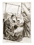 Pounding Millet on Board an English Cruiser
