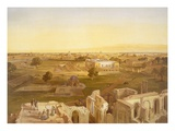 Lucknow  from 'India Ancient and Modern'  1867 (Colour Litho)