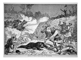 Death of General Ward in the Battle of Tzeki  20th August  1862 During the Taiping Rebellion