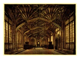 The Divinity School  Oxford: Built Between 1445 and 1454