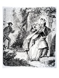 Illustration from 'Little Fadette' by George Sand  1833 (Engraving)