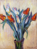 Tulips  1885 (Oil on Canvas)