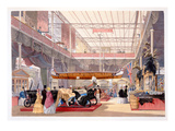 The Canadian Hall from 'Dickinsons' Comprehensive Pictures of the Great Exhibition of 1851'