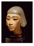 Head of a Harpist  from Tell El-Amarna  C1370-1360 BC (Wood)