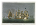 The Action Renewed by Night  Off Madagascar  20th May  1811  Engraved by J Bailey