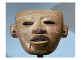 Funerary Mask  Central Highlands  Mexico  C250-550 (Serpentine)