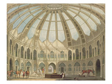 The Interior of the Stables  from 'Views of the Royal Pavilion  Brighton' by John Nash (1752-1835)
