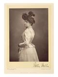Dame Nellie Melba (1861-1931)  Operatic Soprano  Portrait Photograph (Sepia Photo)