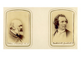 Portraits of John Phillip and Frederick Goodall (Sepia Photo)