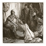 Interview Between Coriolanus and His Wife and Mother (Litho)