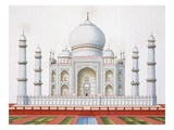 The Taj Mahal (Colour Litho)