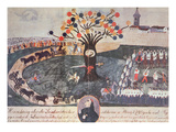 Execution of Ignac Martinovics and His Companions on 20th May 1795 (Gouache on Paper)