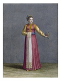 A Young Wallachian Woman  Plate 81