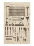 A Gentleman's Tool Chest  from the Catalogue of Cutler and Co (Engraving)