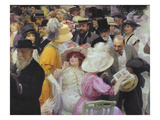Friday at the French Artists' Salon  1911 (Detail)