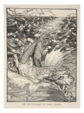 Ere the Leviathan Can Swim a League  Illustration from 'Midsummer Nights Dream'