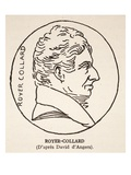Royer-Collard (Litho)