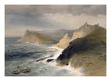 Gale Off the Port of Balaklava  November 14th 1854  Plate from 'The Seat of War in the East'