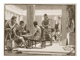 The Romans at Corinth (Litho)