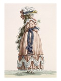 Lady&#39;s Summer Walking Gown  Engraved by Dupin  Plate No192