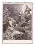 The Moon and Endymion  1731 (Engraving)