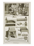 A Bakery and Baking Equipment  from the 'Encyclopedie Des Sciences Et Metiers'